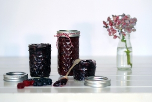 Chia Seed & Berry Jam, Renee Naturally