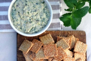 Artichoke & Cannellini Dip, Renee Naturally