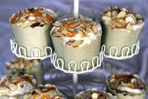Cardamom, Orange & Almond Cupcakes, Renee Naturally