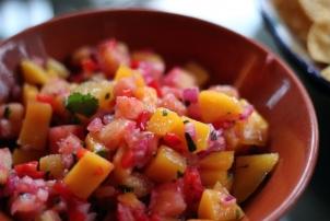 Tropical Fruit Salsa, Renee Naturally