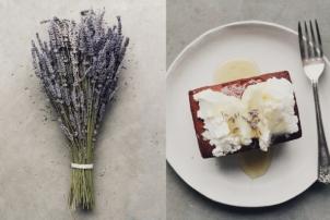 Lavender & Earl Grey Tea Cakes, Recipe by Renée Naturally