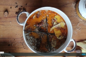 Dandelion Root Chai Concentrate, Video & Recipe by Renee Naturally