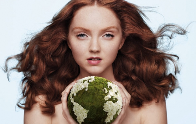 The Body Shop, Lily Cole, Renee Naturally