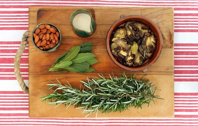 Herbed Eggplant & Tahini Bake, Renee Naturally
