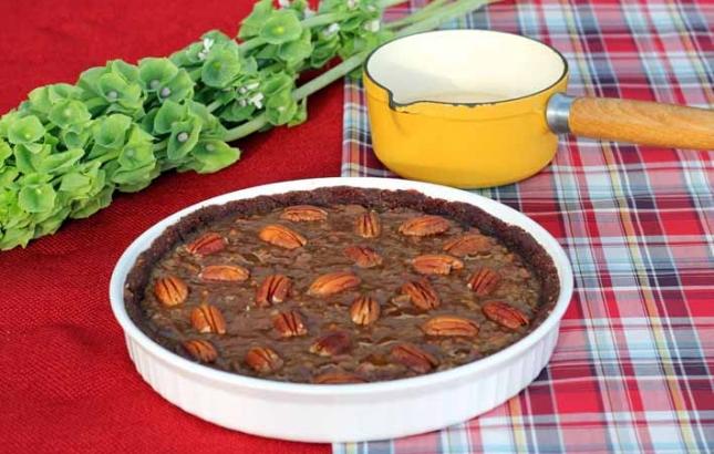 Vegan Pecan Pie, Renee Naturally