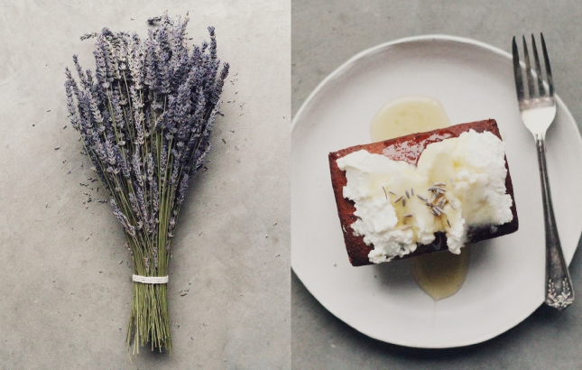 Lavender & Earl Grey Tea Cakes, Recipe by Renée Naturally