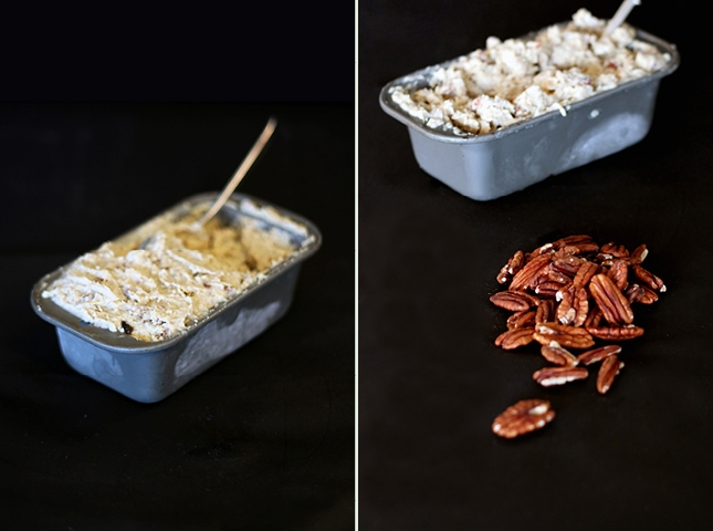 Roasted Banana, Maple & Pecan 'Ice-Cream' | http://www.reneenatur...