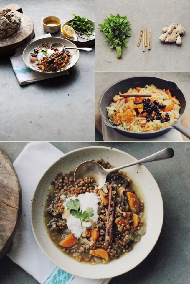 Fragrant Morrocan Lentil Soup // Recipe by Renee Naturally (Naturopath and Nutritionist)